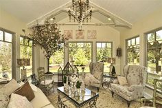 More French Country, love this designer!