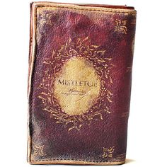 YodaHidemi Leather Book Wallet Antiqued [Mistletoe] (£340) ❤ liked on Polyvore featuring bags, wallets, fillers, books, things, accessories, leather change purse, coin pouch, leather credit card holder wallet and genuine leather wallet
