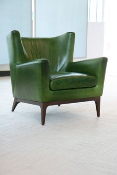 American Leather--Cole--WANT! I sat in this chair yesterday, I will be specifying it for one of my clients. It is so comfortable and stylish!