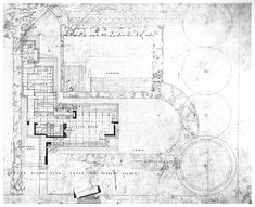 frank lloyd wright drawings | Instant House: Frank Lloyd Wright's Usonian Homes