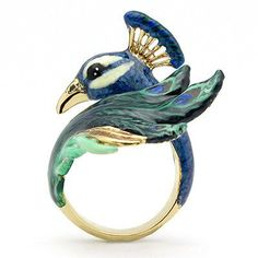 Bague Paon Ballerine Birds collection