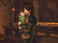Hiccup and Rooney