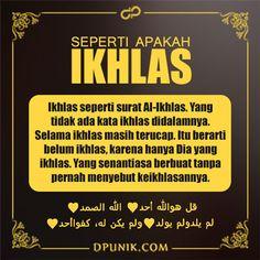 Gambar DP BBM Ikhlas Terbaru Muslim Quotes, Religious Quotes, Positive Quotes, Motivational Quotes, Inspirational Quotes, Muslim Religion, Best Quotes, Life Quotes, Moslem