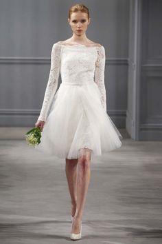 da60a1b5e3e Monique Lhuillier 2014 Bridal Collection from NY Bridal Market Monique  Lhuillier Bridal