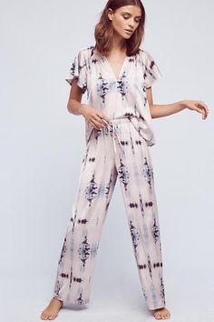 Watercolor Dream Sleep Pants with Matching Top Cute Pajama Sets, Cute Pajamas, Cute Sleepwear, Sleepwear Women, Night Suit, Night Gown, Pijamas Women, Sleep Pants, Pyjamas