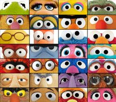 Have you ever had the feeling that you're being watched?! Muppet Eyes