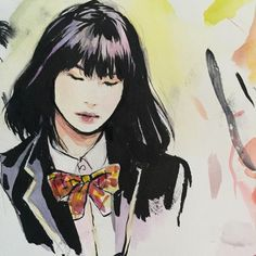 Yoongi did that! I messed up the outfit but whatever Min Yoonji, Ap Art, Bts Fans, Kpop Fanart, Bts Bangtan Boy, Art Drawings, Geek Stuff, Artsy, Artwork