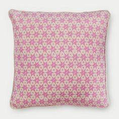 Star Dot Cushion | Foxglove | Annie Shrive