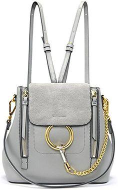 5f1f7ed648a4f FairyBridal Women Real Leather Satchel Cross Body Handbags