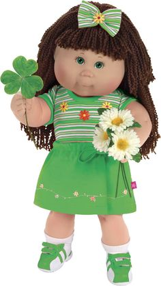 Celebrate St. Patricks Day Kid with a Cabbage Patch Kid from BabyLand!