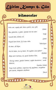 Pecunia Tutorial and Ideas Prep School, Sunday School, Turkish Language, Nursery Rhymes, Preschool Activities, Kids And Parenting, Game, Communication, Education