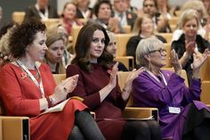 Kate Middleton Photos - (L-R) Catherine Roche, CEO of Place2Be, Catherine, Duchess Of Cambridge and Dame Benita Refson, President of Place2Be during the annual Place2Be School Leaders Forum at UBS London, on November 8, 2017 in London, England. Catherine, Duchess Of Cambridge is Patron of Place2Be, a National Children's mental health charity. - The Duchess Of Cambridge Attends Place2Be School Leaders Forum