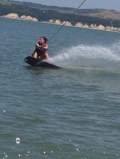 I love to wakeboard :)