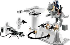 Lego ECHO BASE 7749 Set Han Solo Hoth Rebel Snowtrooper Tauntaun minifigs