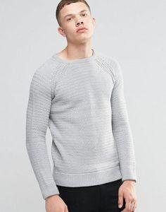 Brave Soul Textured Knit Jumper