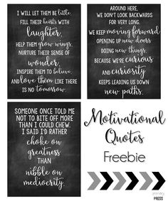 Check out this motivational quotes freebie!!!