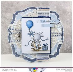 Little bunny – Copic Markers, Winter Theme, Baby Cards, Christening, Stamping, Embellishments, Christmas Cards, Bunny, Lily