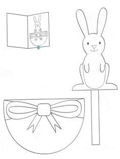 Mozgatható üdvözlőlap Easter Activities, Easter Crafts For Kids, Craft Activities, Spring Projects, Spring Crafts, Happy Easter, Easter Bunny, Easter 2018, Cool Paper Crafts