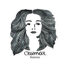 Ceumar- Silencia (Brasil, 2014)Illustração:Tiê Coelho Todão Design:Ju Coelho Sugestão enviada por @zeziga. Para ver sua capa favorita aqui na próxima sexta-feira, use a hashtag #coverjpgno instagram.