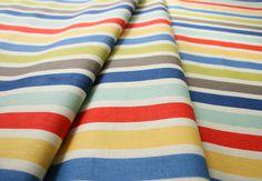Riley Blake Seaside Stripe Red C2965