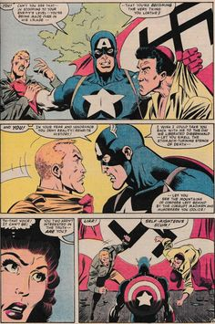 "J.M. DeMatteis On His ""Don't Punch A Nazi"" Captain America Comic From 1982"