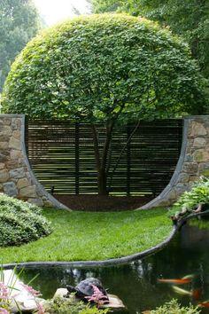 Garten Begrenzung  #begrenzung #garten #gartengestaltung