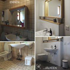 Kylpyhuoneen muutos | HEIDI RISKU