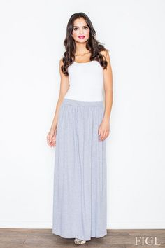 Looking for Maxi Skirts? Call off the search with our Grey Maxi Skirt With A Slit. Shop unique fashion at SilkFred Unique Fashion, Luxury Fashion, Grey Maxi Skirts, Lingerie, Streetwear Brands, Off White, Street Wear, Boutique, Shopping