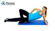 10 Minute Inner Thigh Workout - Fitness Blender Inner Thigh Exercises to...