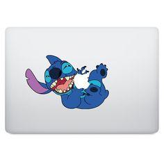 Lilo & Stitch MacBook Decal Macbook Decal Stickers, Decals, Macbook Air 11, Lilo And Stitch, Creative Design, Artwork, Cricut, Cases, Amp
