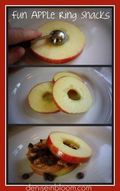 Fun apple snacks for kiddos