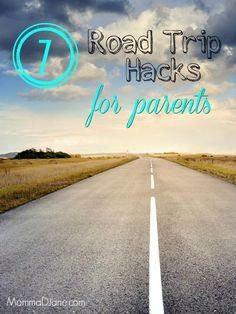 Save time, money and stress on your next family vacation with these 7 Road Trip Hacks for Parents.