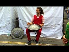 ▶ Daniel Waples --Hang Drum -- Edinburgh August 2012 - YouTube
