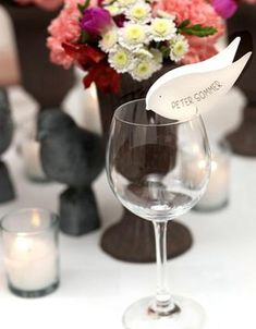 Sehe dir das Foto von Handwerklein mit dem Titel Schöne Idee für Pltzkärtchen zur Hochzeit und andere inspirierende Bilder auf Spaaz.de an.