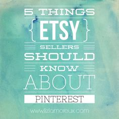 A few things for Etsy sellers (and other small businesses) to think about when using Pinterest. :: One way I'm using Pinterest for good is sharing what I'm learning. Come over and join the conversation. #etsy