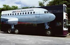 Is this a plane or a bus??