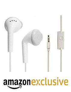 Shopbell in Ear Headphone for Samsung Galaxy Tab T-Mobile in the universal Earphone/headphone/handsfree/headset with jack and mic/calling function/original music receiver Best high quality sound Earphone-white – Tikam Chand Hukam chand Best Headphones, Original Music, Noise Cancelling, Samsung Galaxy S6, Headset, Amazon A To Z, India Shopping, Earbuds With Mic, Shopping Center