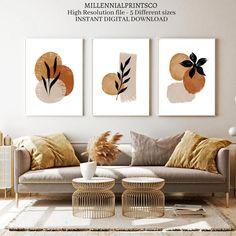 Diy Canvas Art, Diy Wall Art, Modern Wall Art, Wall Art Decor, Room Decor, Modern Art Prints, Modern Artwork, Wall Art Boho, Country Wall Art
