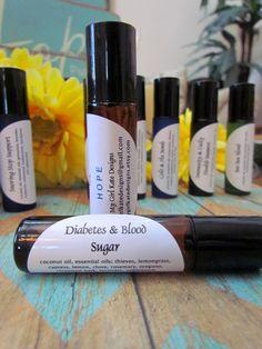 Diabetes & Blood Sugar Support / Essential Oil Roller Ball
