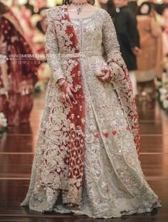 At a baraat - Noemi Asian Bridal Dresses, Indian Bridal Outfits, Pakistani Wedding Dresses, Pakistani Dress Design, Indian Designer Outfits, Wedding Outfits, Walima Dress, Shadi Dresses, Indian Gowns Dresses