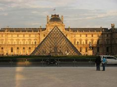 The Musée du Louvre —in English, the Louvre Museum or simply The Louvre—is one of the world's largest museums, and a historic monument. A central landmark of Paris, France, it is located on the Right Bank of the Seine in the 1st arrondissement (district). Nearly 35,000objects from prehistory to the 21st century are exhibited over an area of 60,600 square metres (652,300 square feet). With more than 8 million visitors each year, the Louvre is the world's most visited museum.