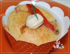 Cupcake Salgado - Teretetê na Cozinha
