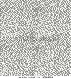 Elephant Print Vector