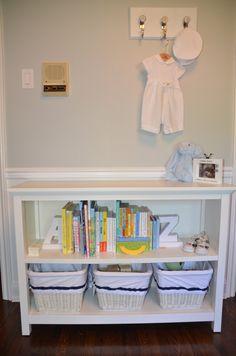Project Nursery - Baby Q's Navy and Gray Nursery 6