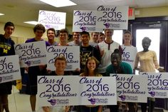 June 1...Final day of school for the Class of 2016! Congratulations!
