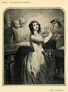 french barmaid 1904