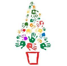 Árboles de #Navidad originales y diferentes: y el de hoy va dedicado a los más peques de la casa.... ¡Nos encanta la idea! Y además, ¡seguro que se lo pasarán genial! Foto de @Amaya · HomePersonalShopper  #Ideas #arbol #navidad #decoracion