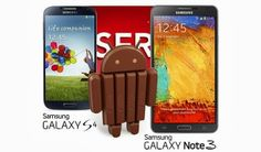 According to SFR, a carrier in France, Samsung will be releasing Android 4.4 KitKat for the Galaxy S4 and Galaxy Note 3 in late January