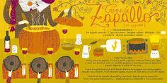 Cositas Ricas Ilustradas por Pati Aguilera: Crema de Zapallo (en zapallo)