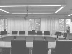 Verhosuunnittelua neuvottelutilaan, verhosuunnittelu ja hankinta // Tilaaja/Client: Kanta-Hämeen sairaanhoitopiiri // Suunnittelu/Design: TE10, 2013